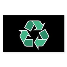 Recycle Symbol Sticker (Black Series)