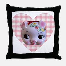 Polly Piglet Throw Pillow