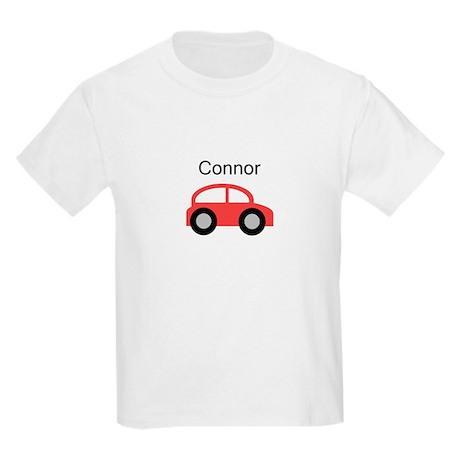 Connor - Red Car Kids Light T-Shirt