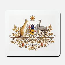 Australian Coat of Arms Mousepad