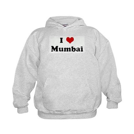 I Love Mumbai Kids Hoodie