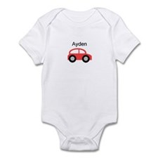Ayden - Red Car Infant Bodysuit