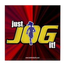 Just Jog It ... Tile Coaster