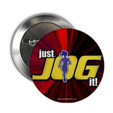 "Just Jog It ... 2.25"" Button"