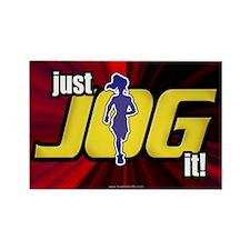 Just Jog It ... Rectangle Magnet