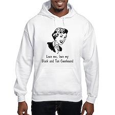 Black and Tan Coonhound Hoodie