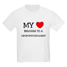 My Heart Belongs To A NEUROPSYCHOLOGIST T-Shirt