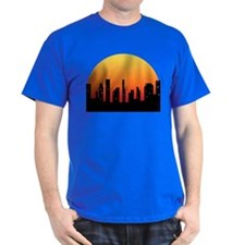 Bassoon Skyline Sunset - T-Shirt
