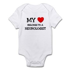 My Heart Belongs To A NEUROLOGIST Infant Bodysuit
