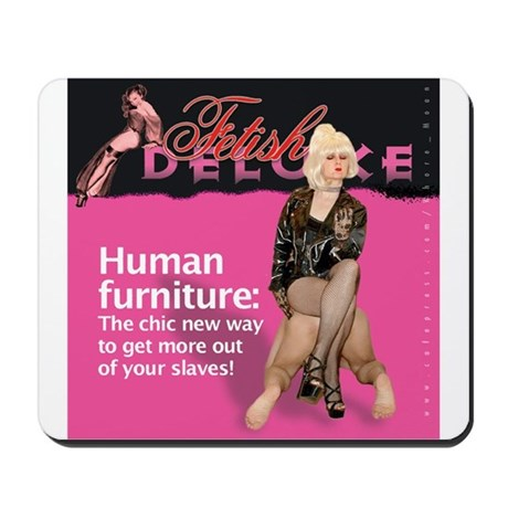 Human Furniture Mousepad By Fetish Deluxe