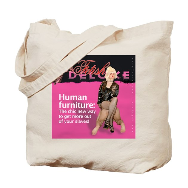 Human Furniture Tote Bag By Fetish Deluxe