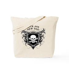 Kick Ass New Dad Tote Bag
