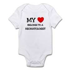 My Heart Belongs To A NEONATOLOGIST Infant Bodysui