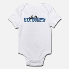 Pit Crews Make It Happen Infant Bodysuit