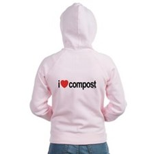 I Love Compost Zip Hoodie