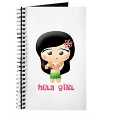 Hula Girl Cutie Patootie Journal