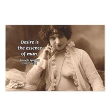Spinoza: Desire and Man Postcards (Package of 8)