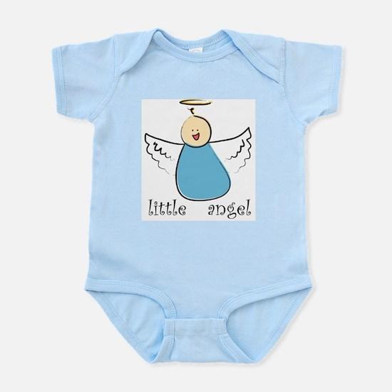 Little Angel Boy Infant Creeper