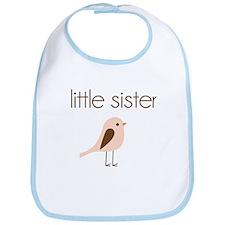 little sister t-shirt birdie modern Bib