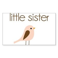 little sister t-shirt birdie modern Decal