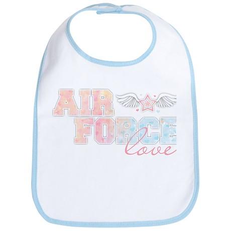 Air Force Love Bib