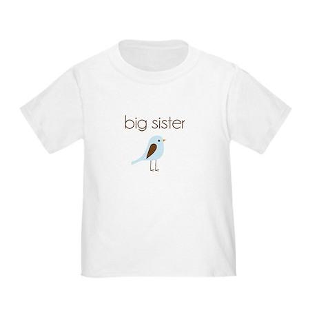 mod big sister t-shirt birdie Toddler T-Shi