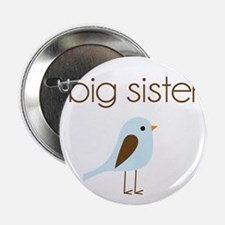 "mod big sister t-shirt birdie 2.25"" Button"