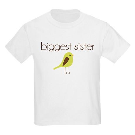 mod biggest sister t-shirt birdie Kids Light T-Shi