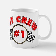 #1 Pit Crew Mug