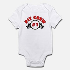 #1 Pit Crew Infant Bodysuit