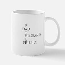 Father Dad Husband Friend Mug