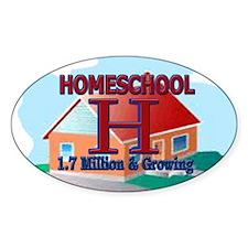 Homeschool Oval Decal