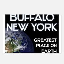 buffalo new york - greatest place on earth Postcar