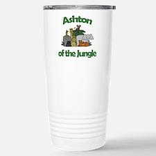 Ashton of the Jungle Stainless Steel Travel Mug