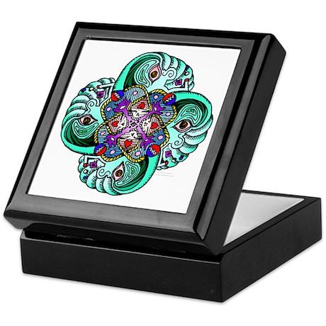 Grateful Dead Wave Keepsake Box