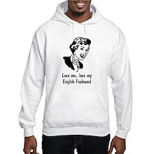 English Foxhound Hoodie