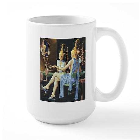 Vintage Science Fiction Large Mug