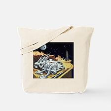 Vintage Science Fiction Tote Bag