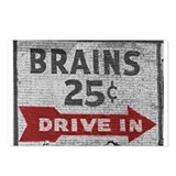 Brains Postcards
