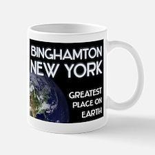 binghamton new york - greatest place on earth Mug