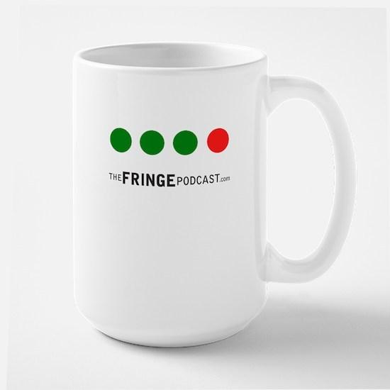 Green, Green, Green, Red Dot Fringe Mug