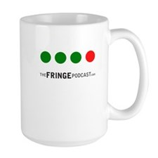 Green, Green, Green, Red Dot Fringe Mug