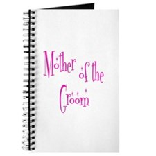 Mother of the Groom Pink Twinkle Journal