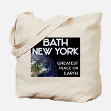 bath new york - greatest place on earth Tote Bag