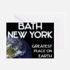 bath new york - greatest place on earth Greeting C