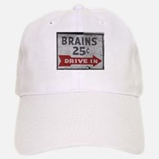 Brains 25 Cents Baseball Baseball Cap