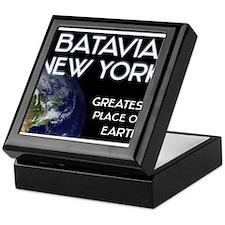 batavia new york - greatest place on earth Keepsak