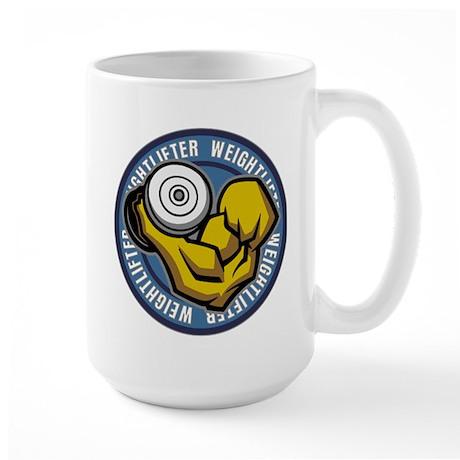 Weightlifter Flex Logo Large Mug
