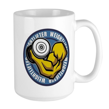 Weightlifter Logo Large Mug