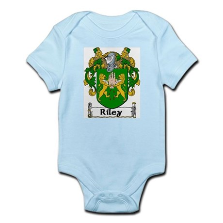 Riley Coat of Arms Infant Creeper